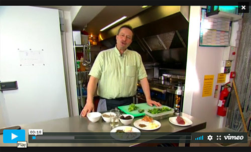 Watch video recipes from French chef Michel Lemoine of Michel's Kitchen near Bristol
