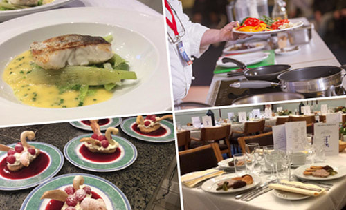 See photos of delicious meals prepared by private French chef Michel Lemoine